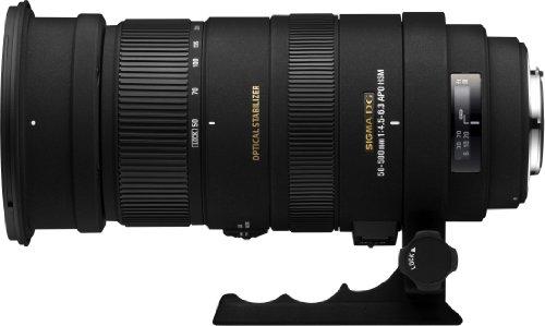 Sigma 50-500 mm F4,5-6,3 DG OS HSM-Objektiv (95 mm Filtergewinde) für Canon Objektivbajonett - Mm Sigma-objektiv 50
