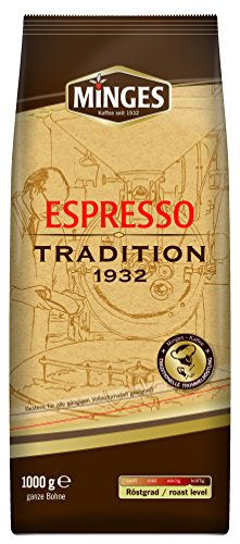 Minges Tradition 1932 Kaffee Bohnen 8kg (8x1kg)