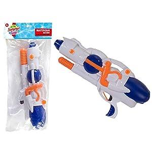 SummerTime 0795013 Pistola de Agua Pistola de Agua - Pistolas de Agua (Pistola de Agua, Integrado, Azul, Naranja, Blanco, De plástico, 3 año(s), 99 año(s))