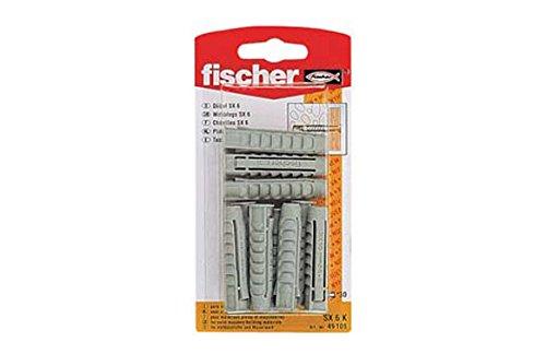 FISCHER 090890 - Blister taco nylon SX 10x50 K NV