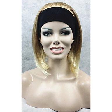 hjl-naturel-perruque-courte-ligne-droite-3-4-melange-blonde-avec-bandeau-perruques-perruque-de-cheve
