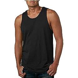 Mosstars Camiseta Running Tirantes, TECNOLOGIA Quick Dry, Camiseta DE Atletismo, VOLEY Playa, Senderismo Camiseta de Tirantes Hombres Sin Mangas Culturismo Fitness Tank Top