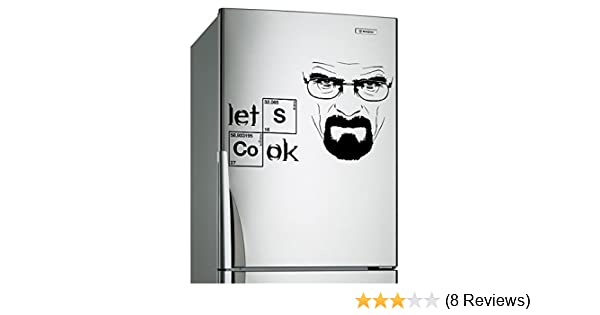 Bosch Kühlschrank Ok Aufkleber : Cm vinyl motiv breaking bad heisenberg zitat lets cook