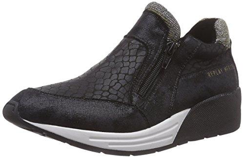 REPLAY Cedam Damen Sneakers Schwarz (BLACK 3)