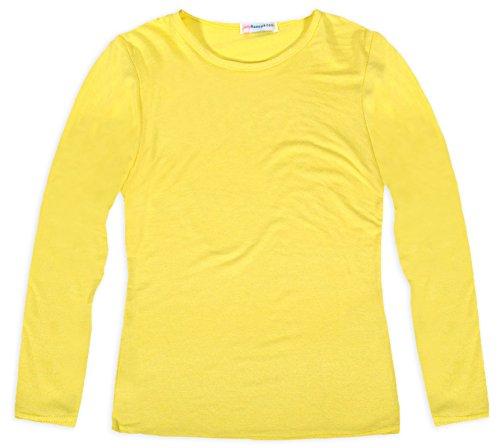 girls-long-sleeved-pastel-summer-t-shirt-yellow-9-10-years