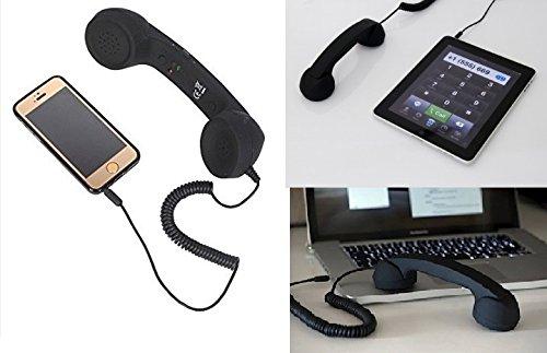 SaleOnTM SaleOn™ Radiation free 3.5mm Wired Call Receiver Handset Antique-207