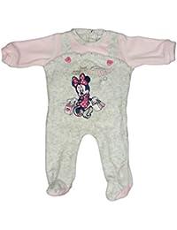 1b4424794b Tuta tutina ciniglia bimba neonato Arnetta Disney baby Minnie rosa grigio  (6 mesi)