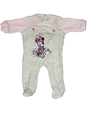 Tuta tutina ciniglia bimba neonato Arnetta Disney baby Minnie rosa grigio