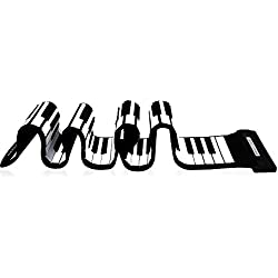 Piano Teclado Enrollable Flexible Roll Up - Andoer® USB 88 Teclas