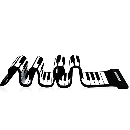 Andoer USB 88 Keys MIDI Roll up Electronic Piano Keyboard Silicone Flexible Professional