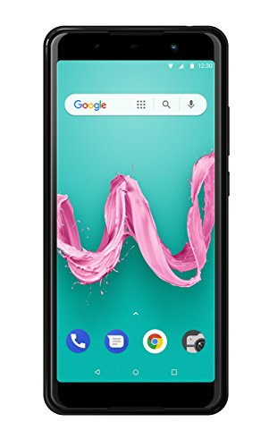 Wiko Lenny 5 Smartphone (17,8 cm (5,7 Zoll) Display, 16GB interner Speicher, Android Oreo Go Edition) anthrazit