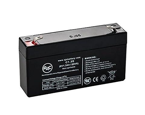 Batterie BCI International 3040 PULSE MICROSPAN OXIMETER 6V 1.3Ah Médical - Ce produit est un article de remplacement de la marque AJC®