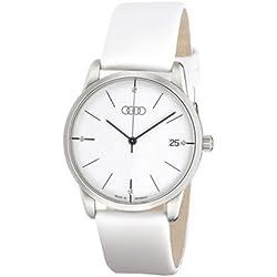 Audi 3101300700 Original Ladies Watch Flatline, White