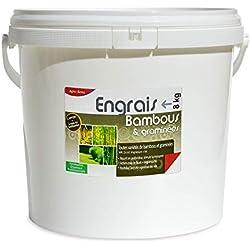 Engrais Bambous et graminées. Fertilisant Organique Complet, Seau 8 kg