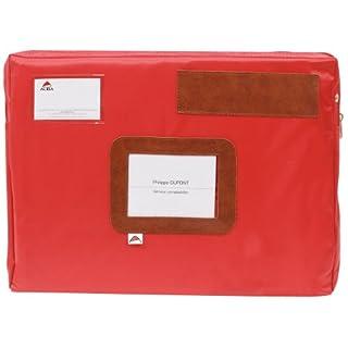Alba Mehrweg-Faltentasche/POCSOUR 42x5x32 cm rot wasserfestes Nylon