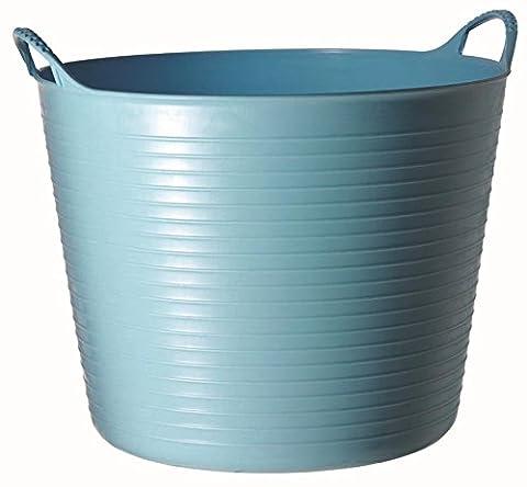 Tubtrugs 26L Medium Flexible 2-Handled Recycled Tub, Sky