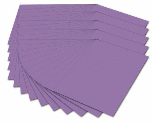 Folia 614/50 28 Fotokarton (300 g/m², DIN A4, 50 Blatt) flieder