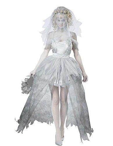 ost Fancy Hochzeit Kleid Damen Weihnachten Verkleidung Karneval Party Halloween Fest (Harley Quinn Cosplay Outfit)