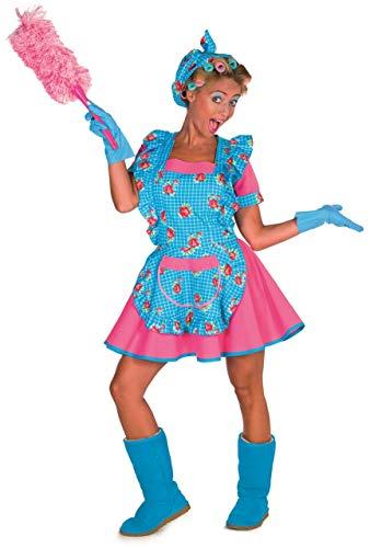 Damen Kostüm sexy Putzfrau Karneval Fasching - Putzfrau Kostüm