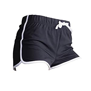 Skinni Fit Damen Sport-Shorts / Retro-Shorts
