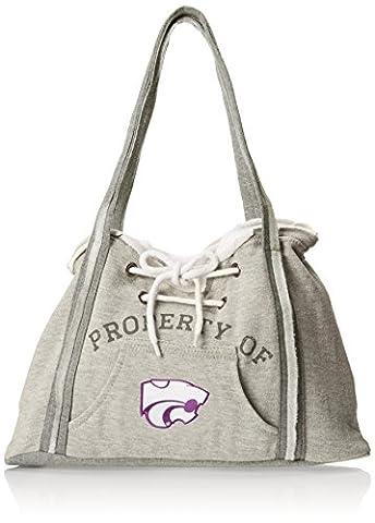 NCAA Kansas State Wildcats Hoodie Purse, Grey 1