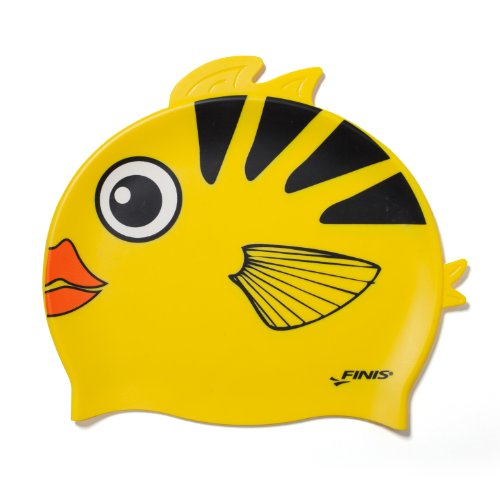 finis-silicone-fun-cap-angel-fish-head-jaune