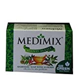 Medimix Hand Made Ayurvedic Soap With 18 Herbs 115G (Pack of 4) by Medimix