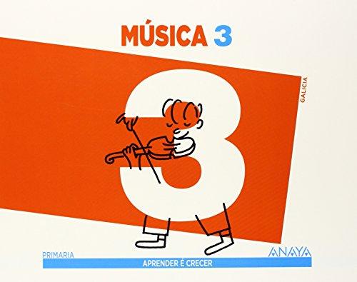 Música 3. (Aprender é crecer) - 9788467849523