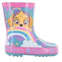 Girls Paw Patrol Wellington Boot Wellies Size 5 6 7 8 9 10 Infant