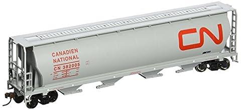 Bachmann trains canadien National 4Bay cylindrique Grain Hopper