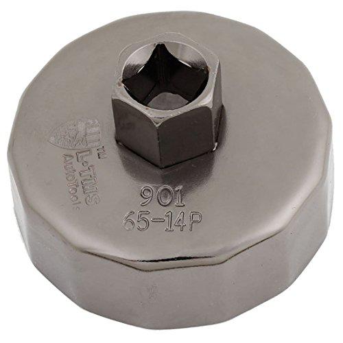 oelfilter Werkzeug - TOOGOO(R)Kappe oelfilter Steckschluessel Schneider Werkzeug 65mm Innendurchmesser 14 Floeten