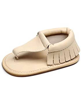 Huhu833 Babyschuhe, Kinder Unisex Baby Casual Quasten Sandalen Sommer Solide Sohle Krippe Hohl Schuhe Sneaker