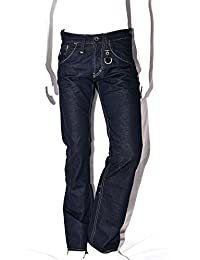 ENERGIE - Marrey - Jean homme coupe droite bootcut toile brut - dark blue