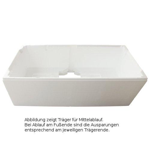 Wannenträger für Badewanne Kaldewei Puro 180 x 80 x 42 cm 2136