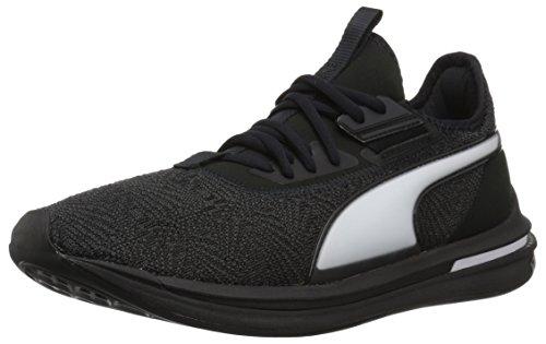 PUMA Men s Ignite Limitless SR-71 Sneaker  Black  10 M US