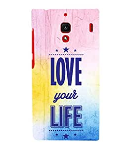 EPICCASE love towards life Mobile Back Case Cover For Xiaomi RedMi 1S (Designer Case)