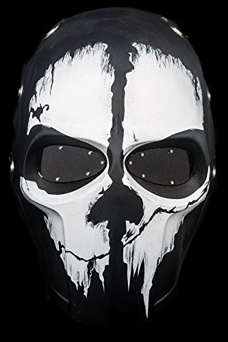 ARMY OF TWO GHOST AIRSOFT MASCARA PROTECTORA GEAR SPORT PARTY FANCY EXTERIOR GHOST MASCARAS BB GUN