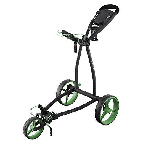 Big Max Blade IP - 3 Rad Golftrolley Faltbar Ultraflach & Robust (Phantom Lime)