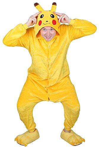Jumpsuit Panda Pikachu Kigurumi Payamas Tier Cosplay Schlafanzug Kostüme Onesie