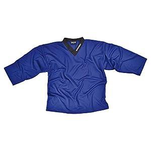 Sherwood SHER-Wood Eishockey Spieler Training Trikot, Größe XXXS, blau, strapazierfähig, für Bambinis zw. 4-6 Jahren in Hobby und Verein