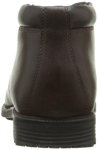 Rockport Esntial Dtl Wpchukka, Boots homme Marron (Marron Foncé)