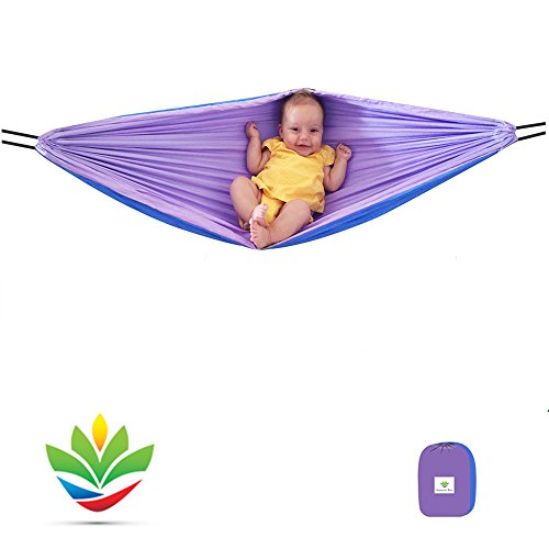 Hammock Bliss - Sky Baby Hammock Swing - The Idea Solution For Putting Baby To Sleep – Fits Perfectly In Your Crib or Travel Cot – Rocking Motion Helps Get Baby Ready To Nap