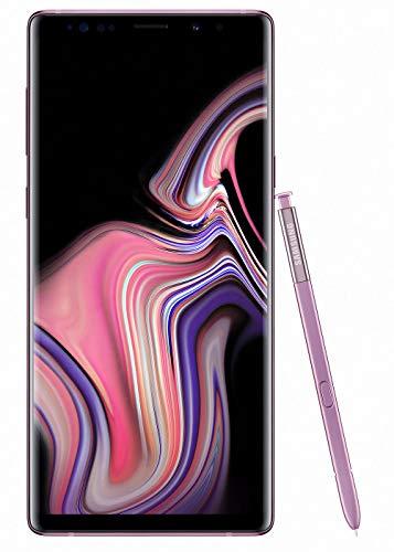 "Samsung Galaxy Note9 Smartphone, Viola (Lavender Purple), Display 6.4"", 512 GB Espandibili, Dual SIM [Versione Italiana]"