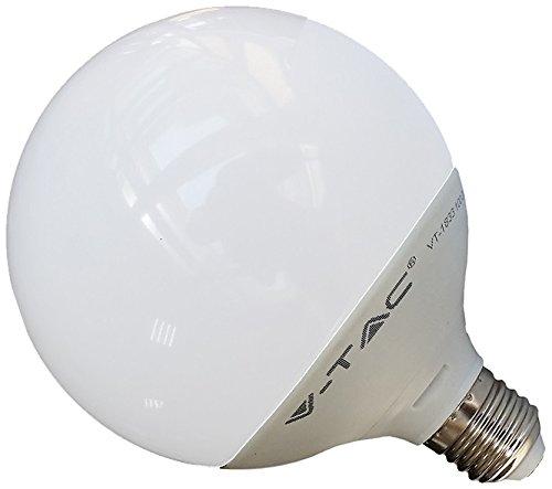 V-TAC 4254 E27 13 W LED Birne Globusform EEK A Dimmbar 240 V 50/60 Hz 3000 K warmweiß VT-1884D