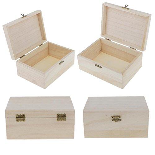 cajas de madera para pintar - Jueves LowCost