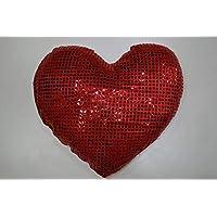 وسادة ديكور على شكل قلب  350 جرام مقاس 35x35سم