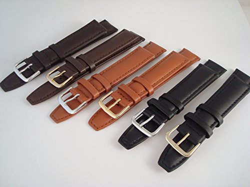 watch-strap-quality-leather-brown-black-tan-gp-ss-buckles