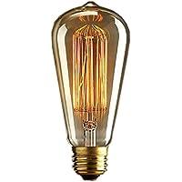 KINGSO Light Bulb, 40 W, Antique