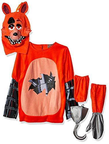 Rubies Fancy dress costume Co. Inc Boys FNAF Adult Foxy Fancy dress costume Small