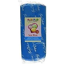 FunCakes Fondant, meeresblau, 1er Pack (1 x 1 kg)